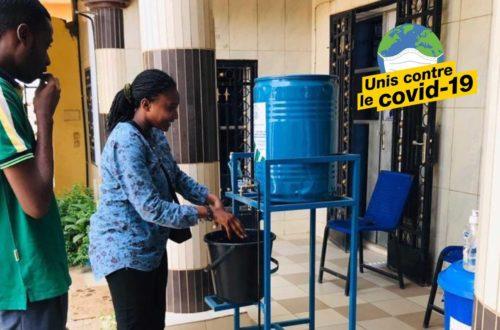 Article : Rencontre avec Haoua, créatrice d'un dispositif de lavage des mains innovant