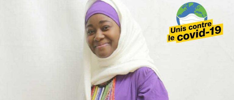 Article : Portrait de Monique, confectionneuse de bavettes en pagne au Niger